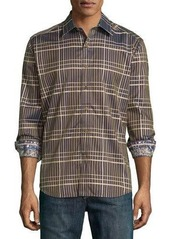 Robert Graham Gorbels Plaid Long-Sleeve Shirt