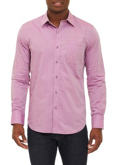 Robert Graham Groves Tailored Fit Sport Shirt