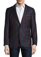 Robert Graham Harry Ellis Woven Plaid Sport Coat