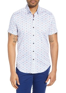 Robert Graham Hat Trick Tailored Fit Shirt