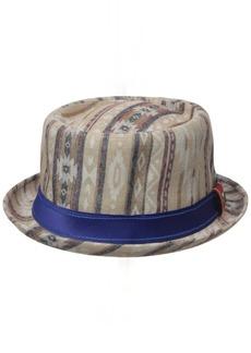 Robert Graham Headwear Men's Arizona Porkpie Hat