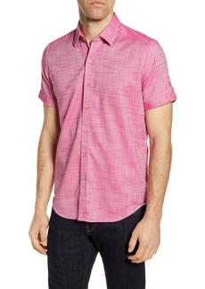 Robert Graham Jackson Regular Fit Short Sleeve Button-Up Shirt