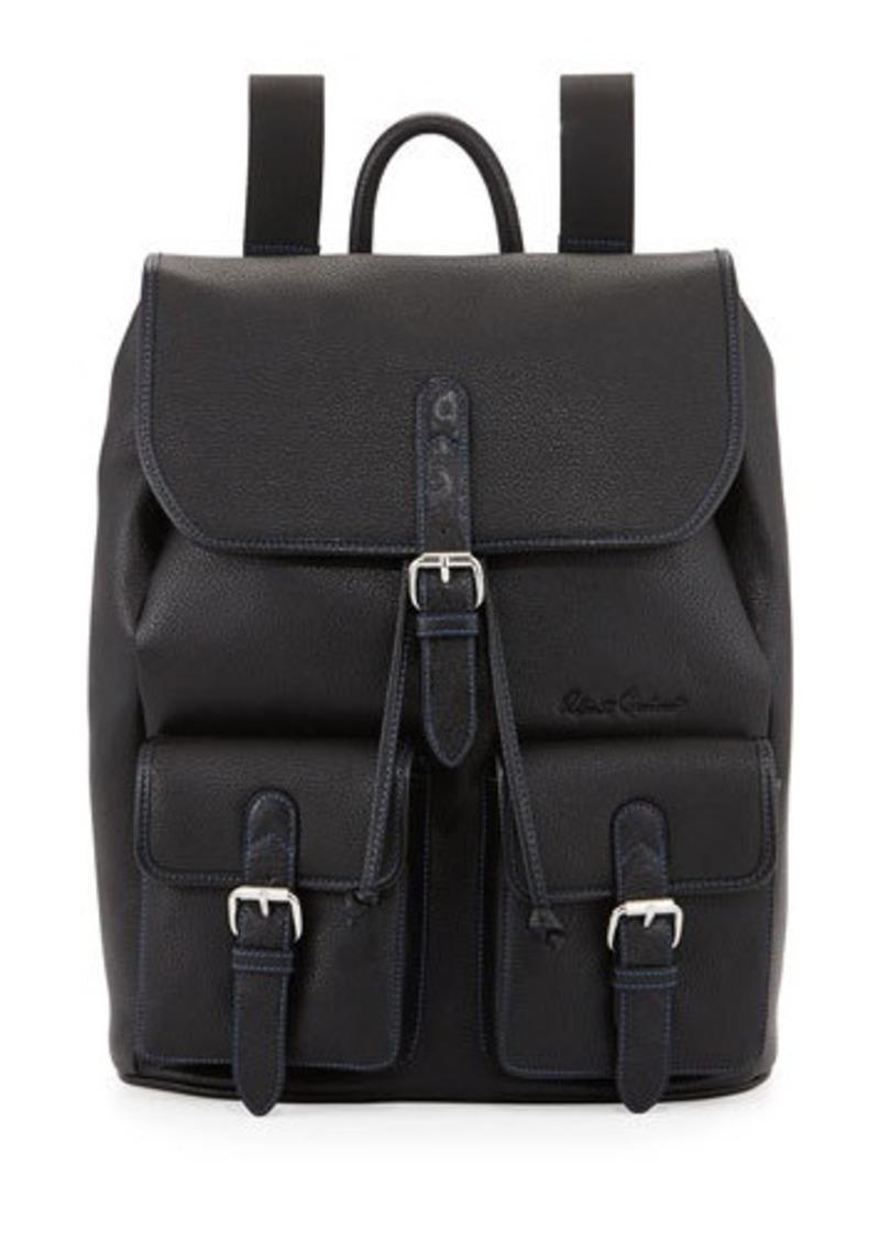 Robert Graham Johnson Leather Flap-Top Backpack