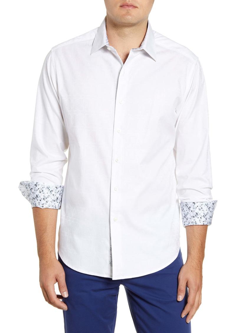Robert Graham Keaton Regular Fit Button-Up Sport Shirt