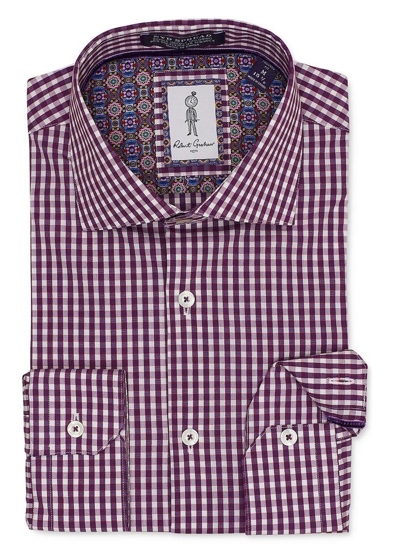Robert Graham Kenley Checked Regular Fit Dress Shirt