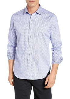 Robert Graham Kirk Classic Fit Print Sport Shirt