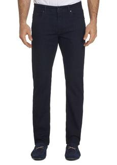 Robert Graham Koch Straight Slim Fit Jeans in Indigo