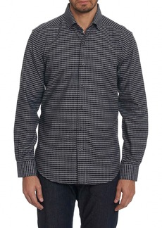 Robert Graham Landen Tailored Fit Print Sport Shirt
