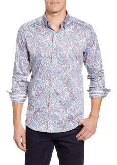 Robert Graham Laramy Classic Fit Button-Up Sport Shirt