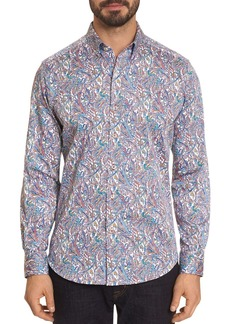 Robert Graham Laramy Printed Classic Fit Button-Down Shirt