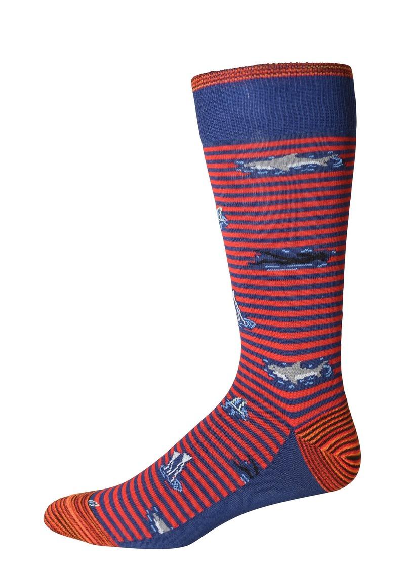 Robert Graham Last Laugh Socks
