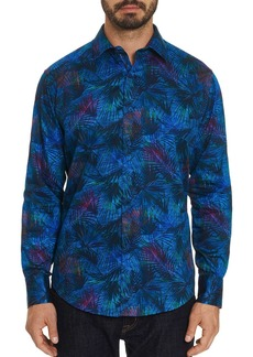 Robert Graham Leafy Dreams Printed Classic Fit Shirt