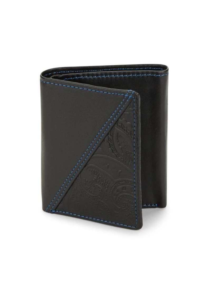 Robert Graham Leather Bi-Fold Wallet