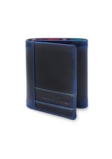 Robert Graham Leather Tri-Fold Wallet