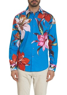 Robert Graham Limited Edition Ariel Embroidered Sport Shirt