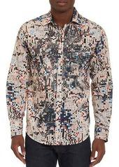 Robert Graham Limited Edition Galaxy Complex Sport Shirt