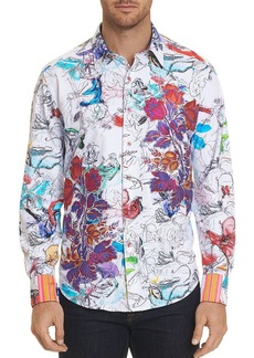 Robert Graham Limited Edition 'Petal to the Metal' Classic Fit Shirt