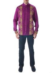 Robert Graham Limited Edition Purple Reign Silk Sport Shirt