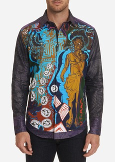 Robert Graham Limited Edition The Conyack Embroidered Sport Shirt