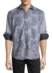 Robert Graham Limited Edition Theories Floral-Print Sport Shirt