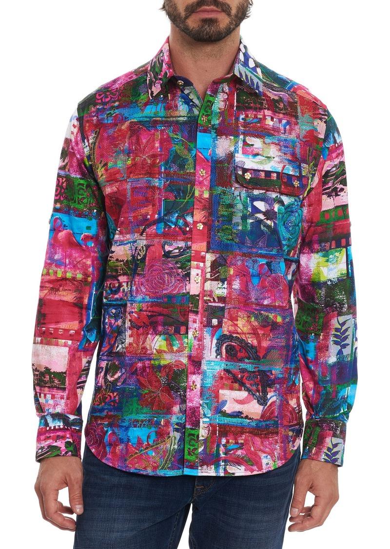 Robert Graham Limited Edition Walking On A Dream Sport Shirt