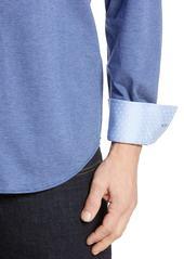 Robert Graham Lyells Tailored Fit Piqué Shirt