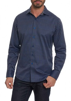 Robert Graham Marion Classic Fit Stripe Shirt