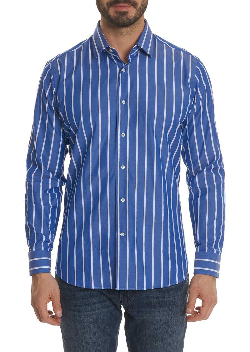 Robert graham robert graham massimo regular fit stripe for Robert graham sport shirt