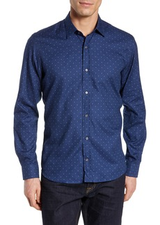 Robert Graham Melton Skull Sport Shirt