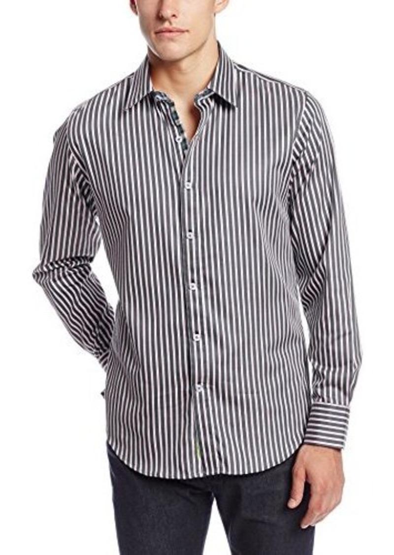 Robert graham robert graham men 39 s abingdon long sleeve for Mens medium long sleeve shirts