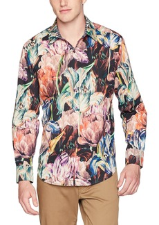 Robert Graham Men's Acadia Long Sleeve Classic Fit Shirt