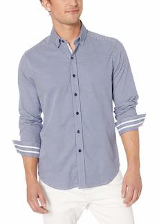 Robert Graham Men's Alabaster Long Sleeve Slim FIT Shirt  XLarge