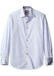 Robert Graham Men's Alex Bay L/s Woven Shirt