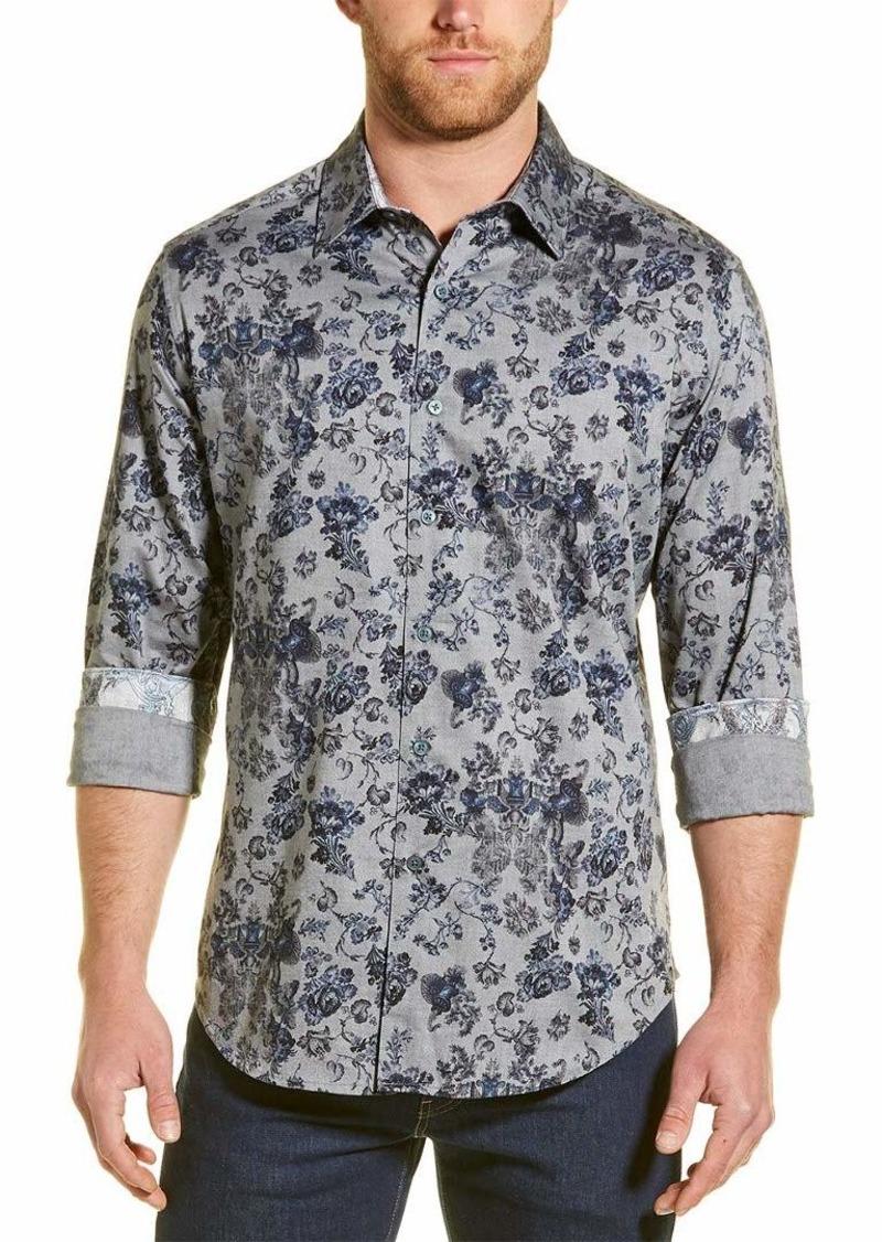 Robert Graham Men's Barker Long Sleeve Classic FIT Shirt