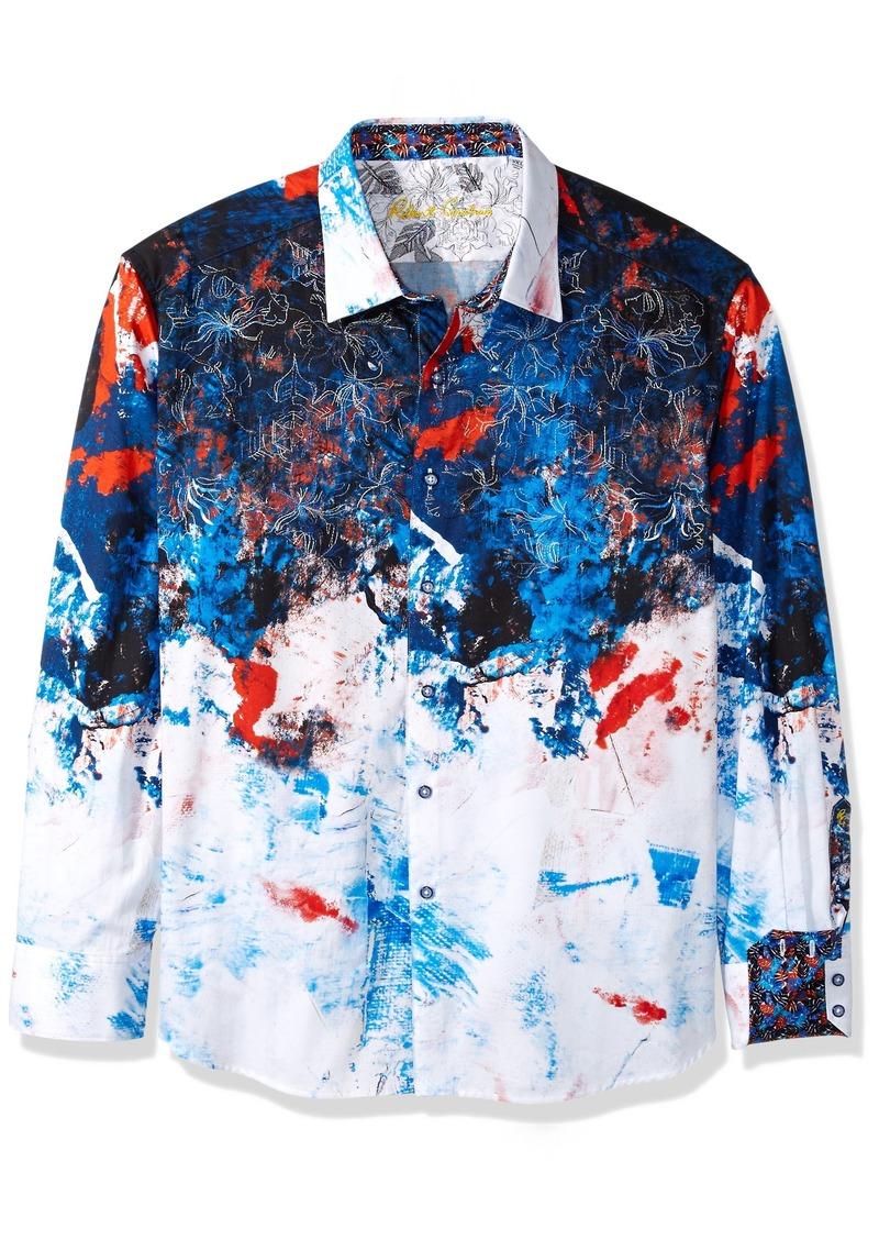 Robert Graham Men's CALZADA Long Sleeve Classic FIT Shirt