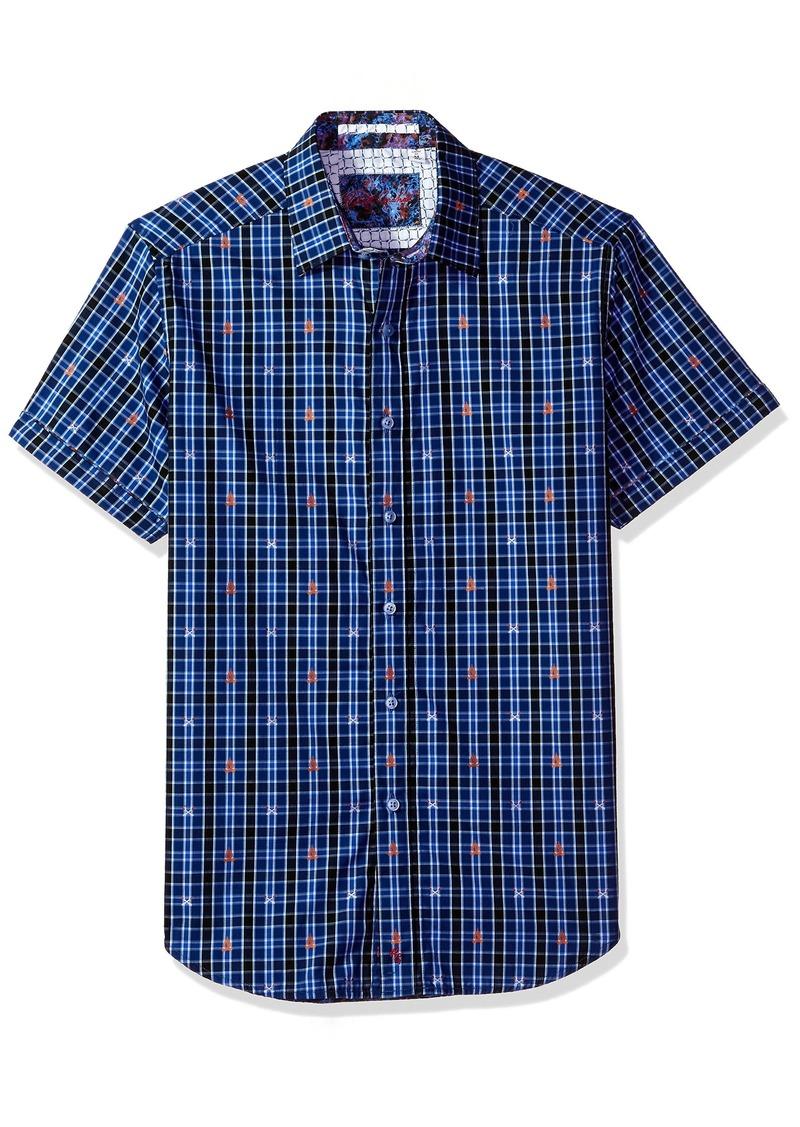 Robert Graham Men's Campfire Short Sleeve Classic Fit Shirt