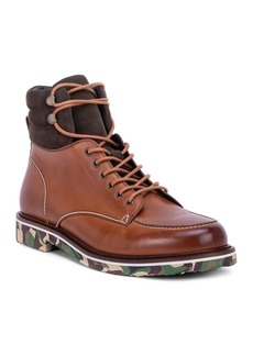 Robert Graham Men's Canon Rock Lace-Up Combat Boots