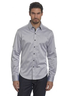 Robert Graham Men's Canton Classic Fit Sport Shirt  2XLARGE
