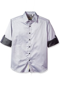Robert Graham Men's Canton Classic Fit Sport Shirt  3XLARGE
