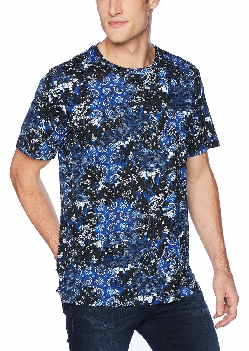 Robert Graham Men's Carvel Rock Short Sleeve Tshirt  XLarge