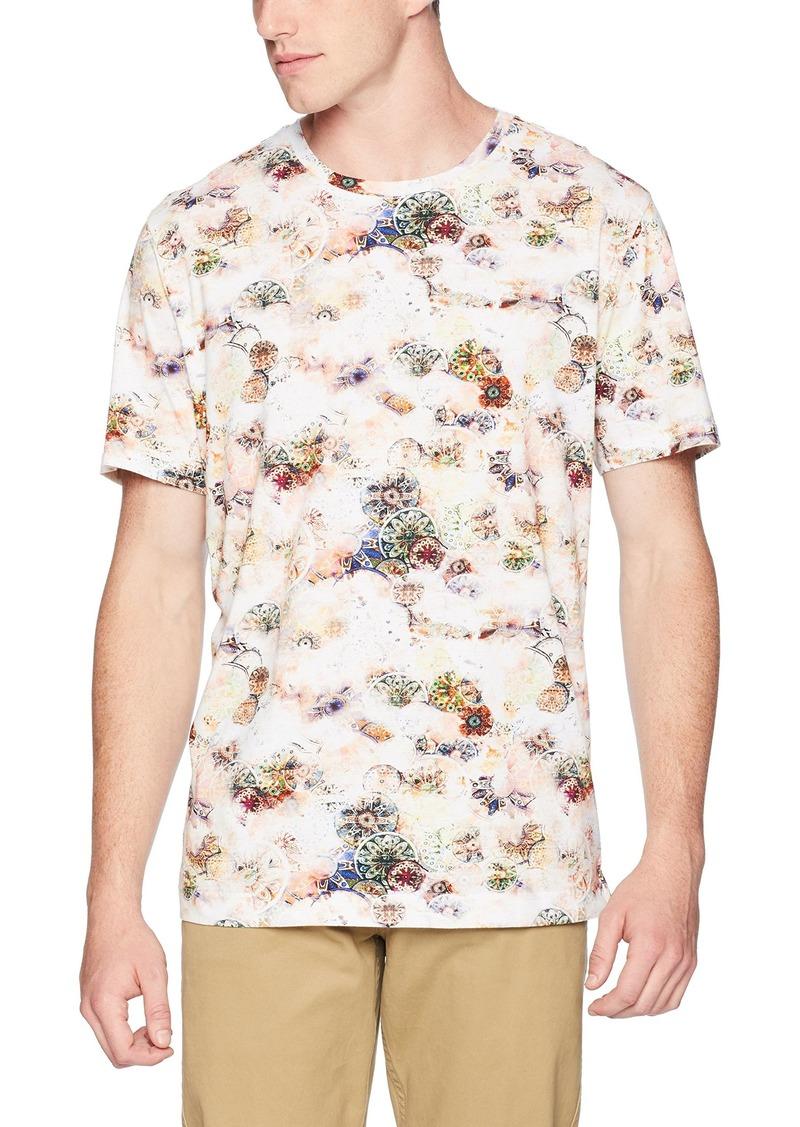 Robert Graham Men's Chateau Short Sleeve Knit Tshirt