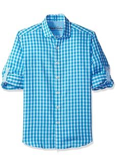 Robert Graham Men's checkered Tailored Fit Long Sleeve Sport Shirt