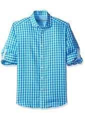 Robert Graham Men's checkered Tailored Fit Long Sleeve Sport Shirt