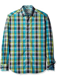 Robert Graham Men's Classic Fit Woven Long Sleeve Sport Shirt