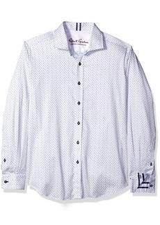 Robert Graham Men's Clay L/s Tailored Fit Woven Shirt  XL