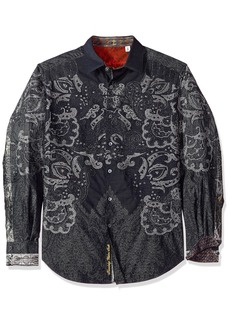 Robert Graham Men's Cooley Limited Edition Shirt  XLarge