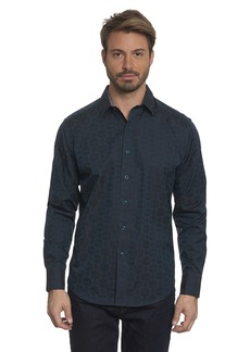 Robert Graham Men's Cullen Long-Sleeve Button-Down Shirt Classic Fit