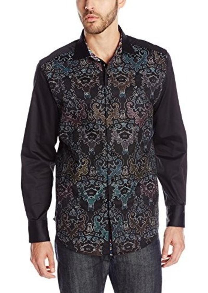 Robert graham robert graham men 39 s cumbernauld long sleeve for Mens medium long sleeve shirts