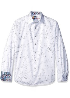 Robert Graham Men's DE LA Cruz Long Sleeve Woven Shirt
