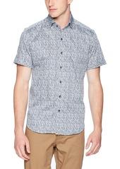 Robert Graham Men's Derry Short Sleeve Slim FIT Shirt